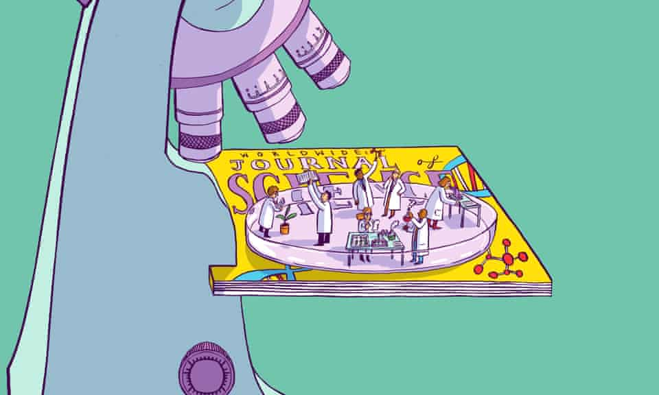 illustration for science publishing long read