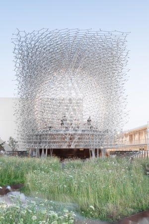 The Hive, Wolfgang Buttress' UK pavilion at the Milan Expo 2015.
