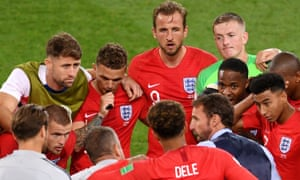 England team talk