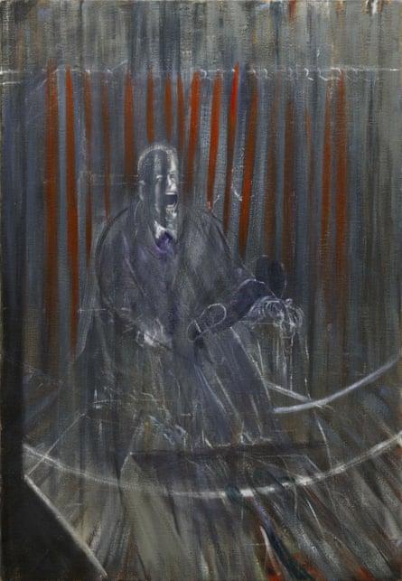 Francis Bacon's  Study After Velasquez 1950