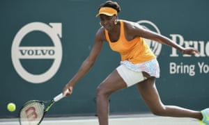 Venus Williams was plagued by errors during the first set and Yulia Putintseva used her backhand drop-shot to perfection on key points to prevail at the Volvo Car Open.