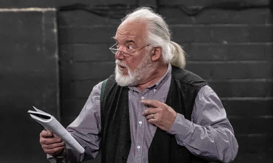 'We were way ahead of Terry Gilliam' … John Tomlinson rehearses King Lear.