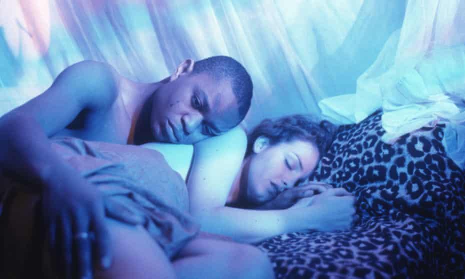 Valentine Nonyela and Saffron Burrows in Welcome II the Terrordome