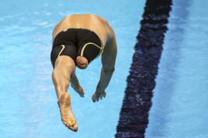 Brenden Hall of Australia competes in the Swimming 200m SM9