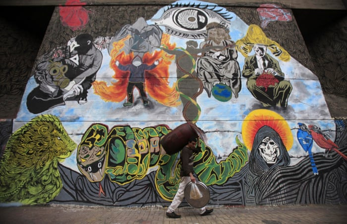 Erase And I Will Draw Again The Struggle Behind Cairos Revolutionary Graffiti Wall Cities The Guardian