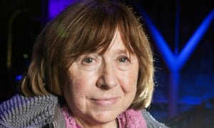 Svetlana Alexievich delivered the inaugural Anna Politkovskaya Memorial Lecture last week at the British Library with the support of English PEN.