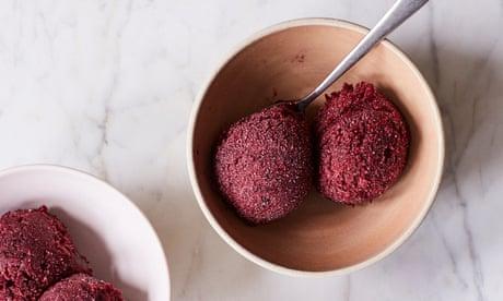 Tamal Ray's cherry sorbet recipe