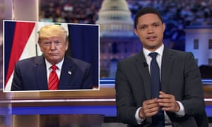 """Trevor Noah: 'All they really need to do is disguise the whistleblower as Trump's daughter Tiffany and he'd be like, """"Who is this person? I've never seen her before in my life.""""'"""