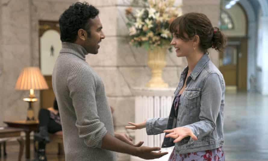 Himesh Patel and Lily James in Yesterday.