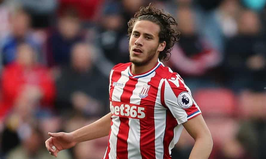 Ramadan Sobhi, who has made 16 appearances for Stoke this season, played in front of 100,000 fans for his previous club, Al Ahly.