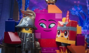 Still top dog … The Lego Movie 2: The Second Part.