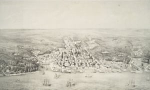 A view of Philadelphia in 1702.