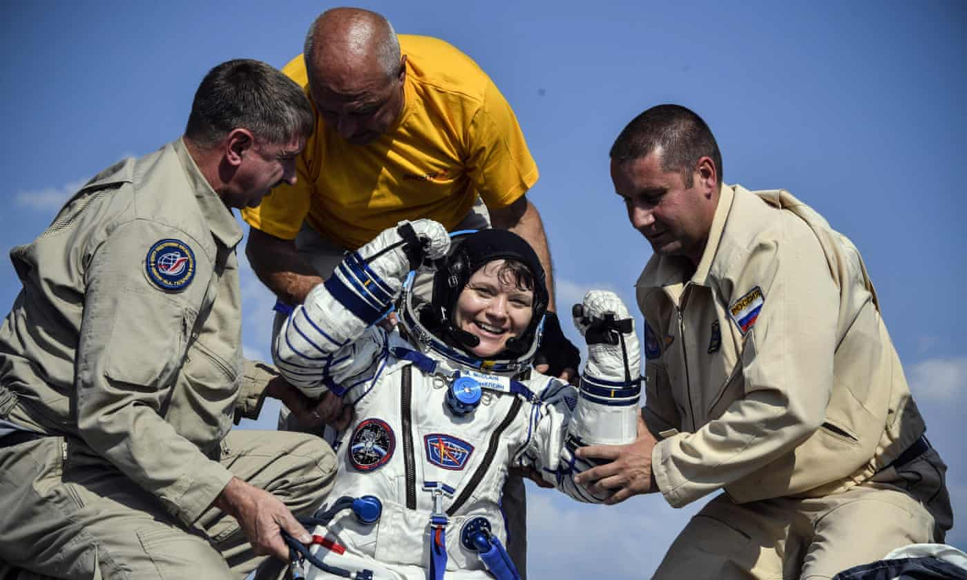 Nasa astronaut 'accessed ex-partner's bank account while living on ISS'