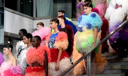 Tomo Koizumi's show at New York fashion week