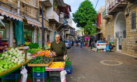 Wadi Nisnas, a predominantly Arab neighbourhood.