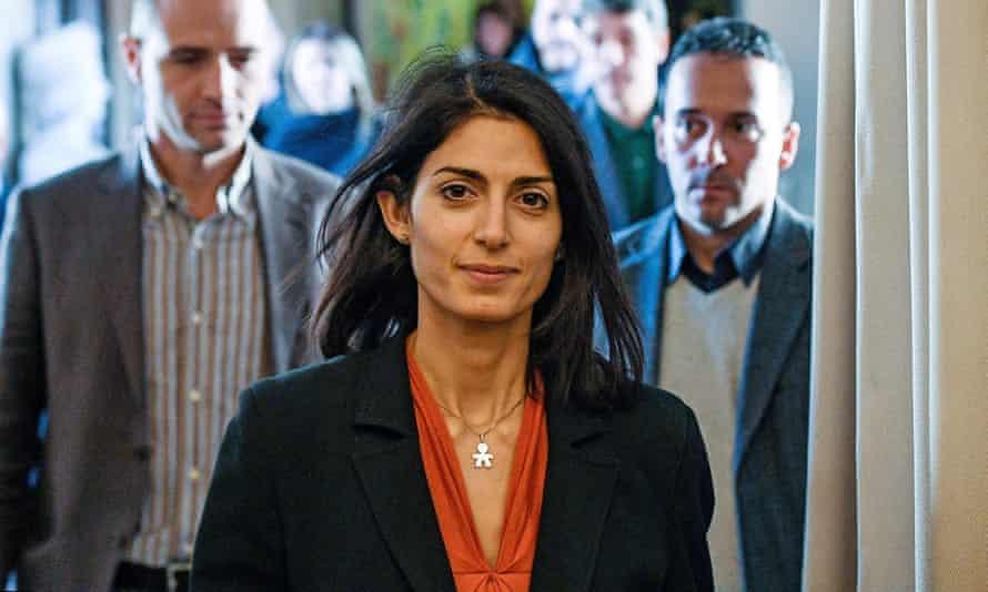 Rome's mayor, Virginia Raggi