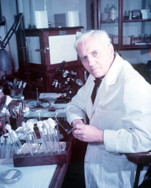 Alexander Fleming, the bacteriologist who discovered penicillin