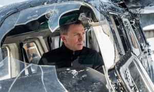 Daniel Craig in the 2015 James Bond film Spectre.