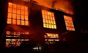Glasgow School Of Art fire.