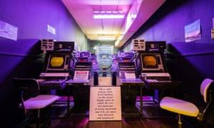 The radar room in Scotland's Secret Bunker