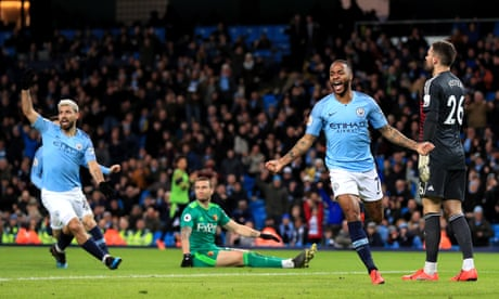 Sterling goal prompts Pep Guardiola and Javi Gracia to call for offside clarity