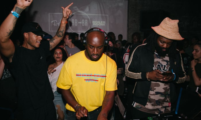 Virgil Abloh on DJing and streetwear: 'Fashion is about to