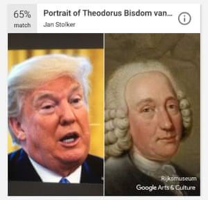 """Résultat de recherche d'images pour """"google arts & culture trump"""""""