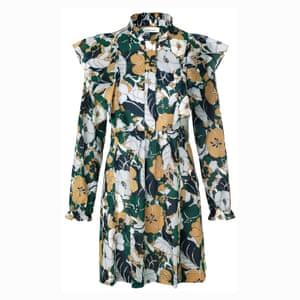 Floral dress, £140, samsoe.com.