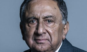 Lord Sheikh has been criticised for attending the 2014 event in Tunisia.
