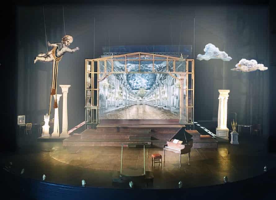 Amadeus, stage design by Chloe Lamford