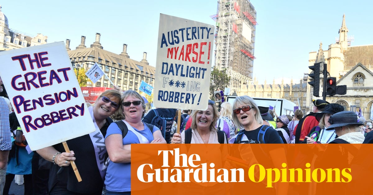 This isn't pension equality. This is a clear injustice to older women | Anne Perkins