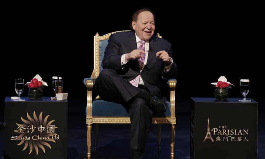 Sheldon Adelson has spent millions on backing Israel and attacking supporters of Palestinian rights in the US.