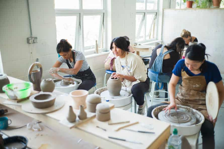 Turning Earth pottery 'gym'