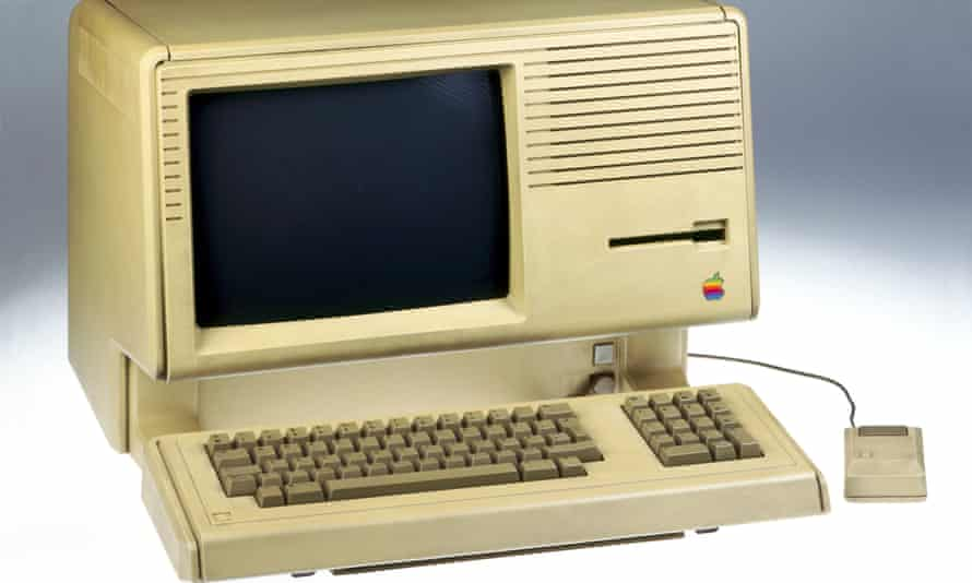 The Apple Lisa computer, first personal computer with graphical user interface and mouse, USA, 1983.
