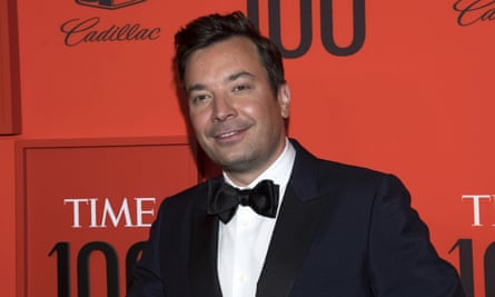 Jimmy Fallon in New York, New York, on 23 April 2019.