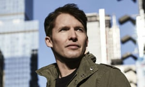 James Blunt: he just keeps spreading that love.