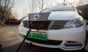 Green registration plates are already in use in China.