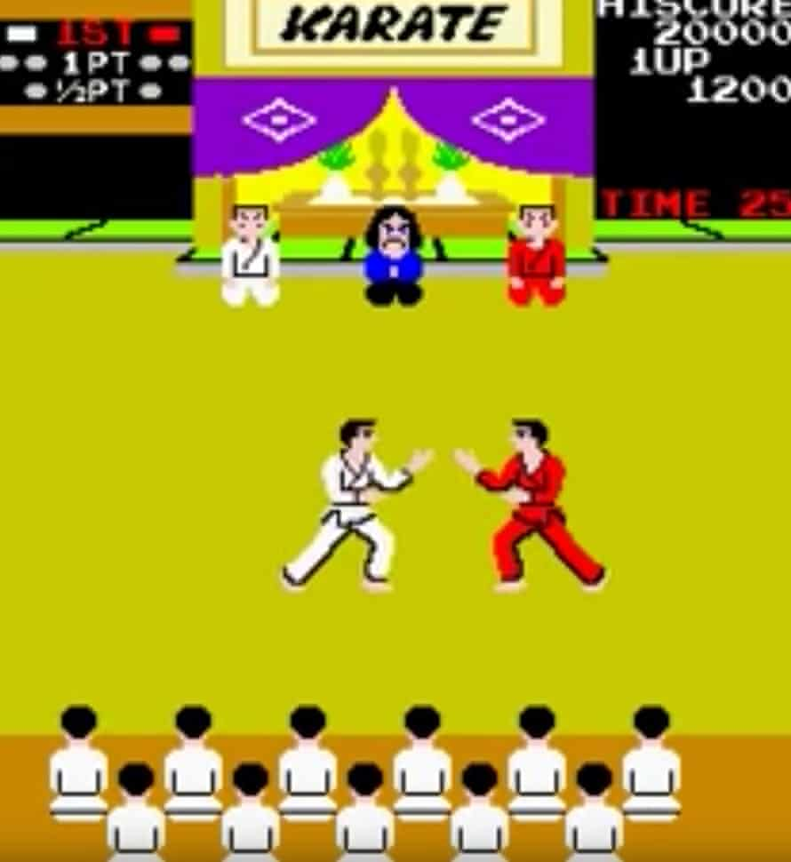 Karate Champ.