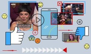 A Facebook elections screen collation