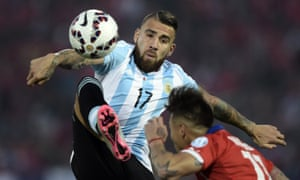 Bravery has been key for Nicolás Otamendi over the course of a career few thought possible.