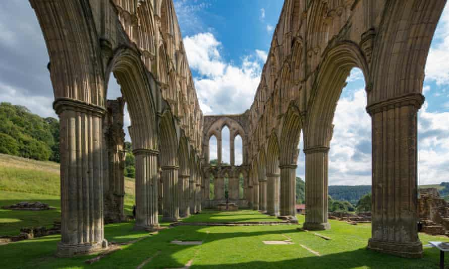 English Heritage's Rievaulx Abbey in North Yorkshire