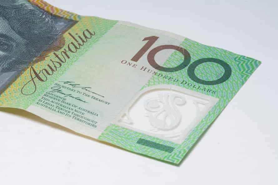 Australian $100 dollar note