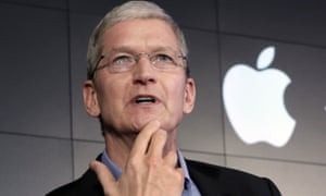 Apple's CEO Tim Cook is piloting the company beyond its 40th birthday.