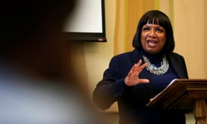 Britain's Labour Party Shadow Secretary of State for the Home Department Diane Abbott
