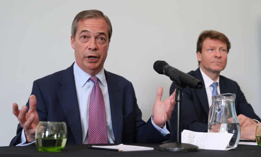 Nigel Farage and Richard Tice