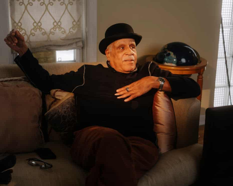 Art Clay at his home in Chicago. Clay, along with Ben Finley, are the first African Americans to be inducted into the US Ski and Snowboard Hall of Fame.