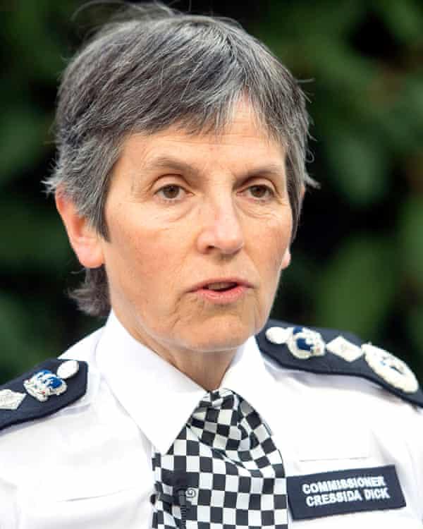 The Metropolitan police commissioner, Cressida Dick.