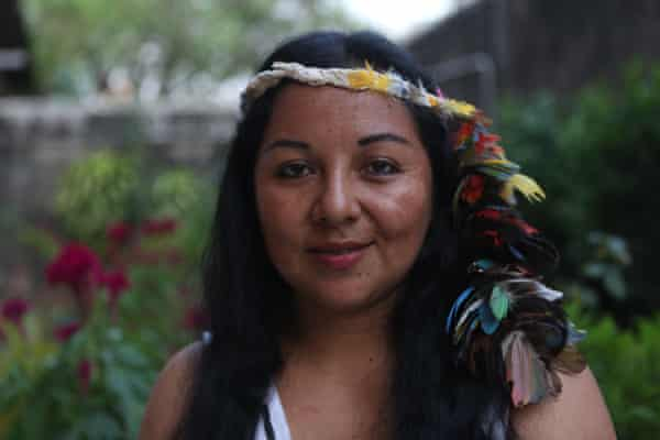 Harakmbut indigenous leader Yesica Patiachi, 32, will travel to Rome for the Amazon synod.