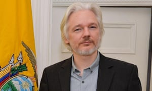 Julian Assange has been in Ecuador's embassy in London for nearly three years to avoid extradition from Sweden.