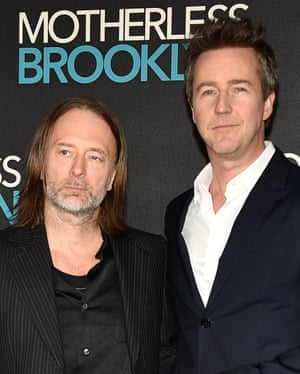 Yorke and Norton at an event in London.